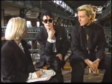 The Sisters Of Mercy - interview Andrew + Andreas, part 1 - MTV 1990