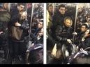 ✊ Россиянка адвокат набросилась с пинками на людей в Нью Йоркском метро 😲 16