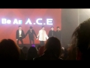 FANCAM | 13.10.18 | A.C.E (Bye) @ Fan-con 'To Be An ACE' in Seoul