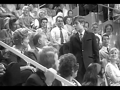 Heintje TV fragment Es kann nicht immer nur die Sonne scheinen 1971