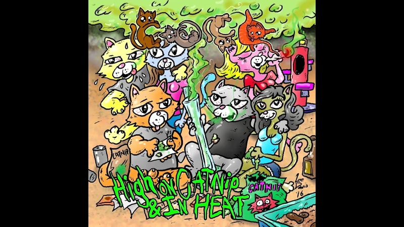 Cute And Cuddly Kittens - High on Catnip and In Heat FULL ALBUM (2016 - Goregrind Death Metal)