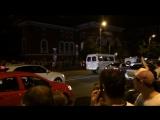 Россия Испания . Полиция против патриотов