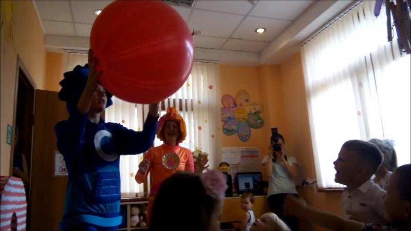 Фиксики в гостях у Маленьких Гениев с Днём рождения любимый детский центр