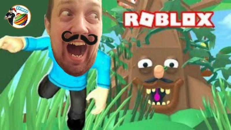 ДЕРЕВО ПРОГЛОТИЛО НАС в ROBLOX Игра для детей Funny games прохождение Мульт игры ТОП Онлайн игры