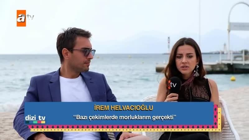 İrem Helvacıoğlu ve Ulaş Tuna Astepe ile çok samimi bir röportaj! - Dizi Tv 609.