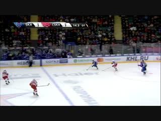 ЦСКА Москва-СКА хоккей.Фантастическое пасение Сорокина...😎😀👍