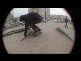 Heelflip на подкате by Vlad Lukmanov