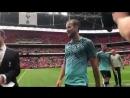 World Cup winner Hugo Lloris and World Cup Golden Boot winner Harry Kane