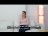 FakeAgent - Carmel Anderson - Office fuck for sexy British model New Porn 2018