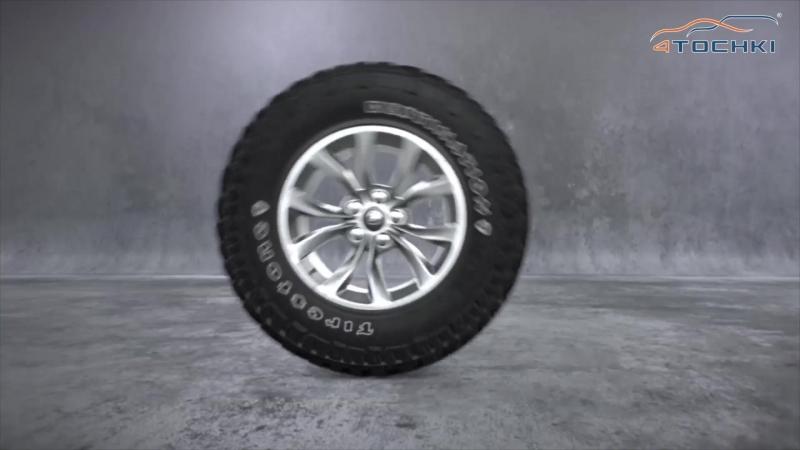 Шины Firestone Destination M/T2 1 на 4точки. Шины и диски 4точки - Wheels Tyres