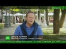 Ведущий НТВ Джон Уоррен принял участие в кулинарном мастер-классе в саду «Эрмитаж»