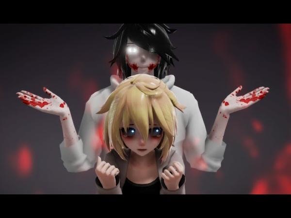 【MMD CreepyPasta】Go To Sleep (Hush Now Quiet Now Remix)