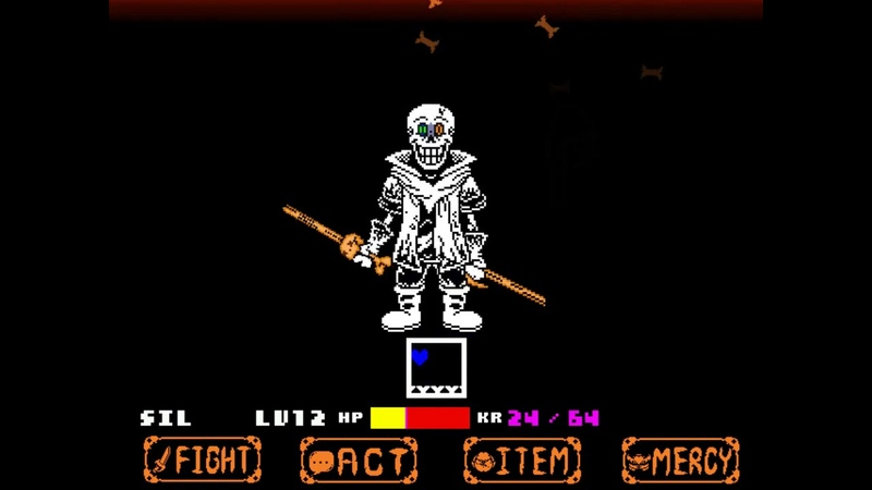 Other version Dustbelief Papyrus battle![undertale fangame]※Failed