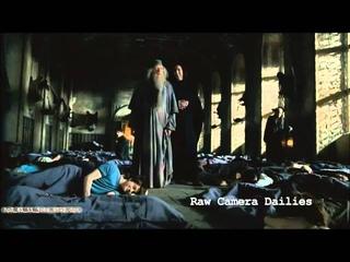 Alan Rickman and Michael Gambon prank Daniel Radcliffe