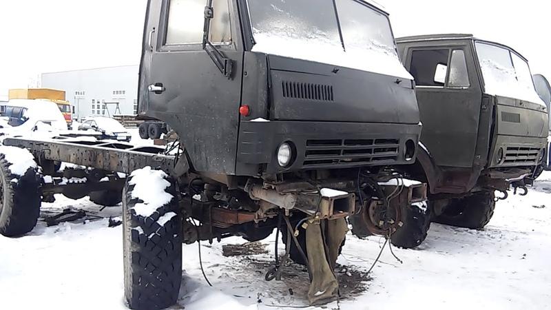 Сборка военного вездехода КАМАЗ 4310