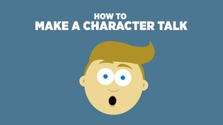 32 How to Make a Character Speak