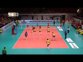 Mega Rally_ The arch-rivals Brazil and Russia meet again (set 2)