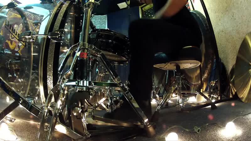 Dave Lombardo drum solo 2013