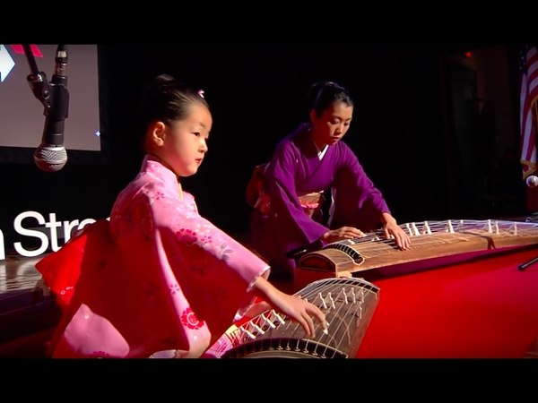 Japanese Harp: Akino and Yoshino Watanbe and Sumie Kaneko at TEDxBeaconStreet