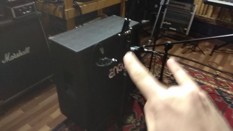 HMR - Псы войны - реампинг гитар на Kiv records