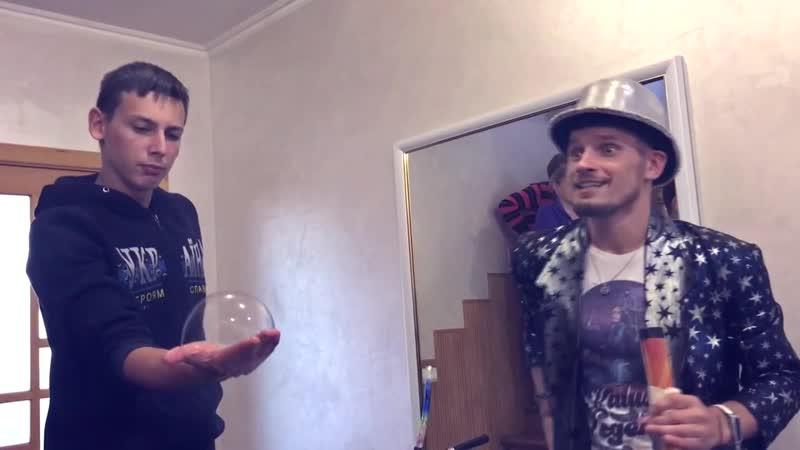 Джавага Володимир та його шоу мильних бульбашок