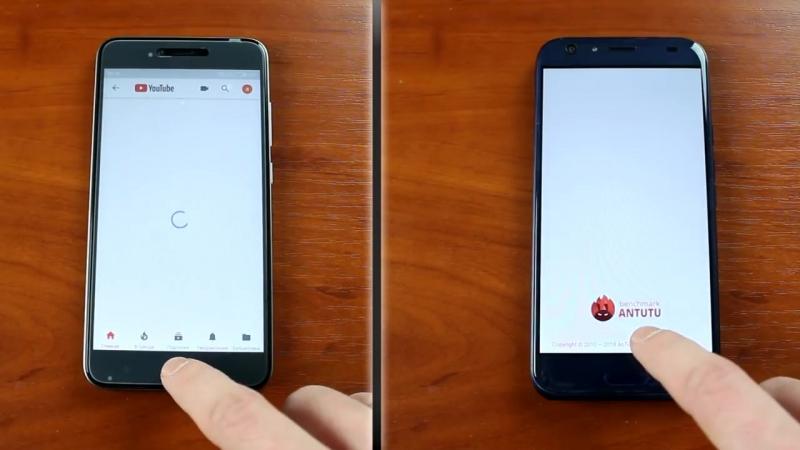 8 ядерный МТК VS. Snapdragon_ тест Doogee BL5000 и Xiaomi Redmi Note 5A Prime