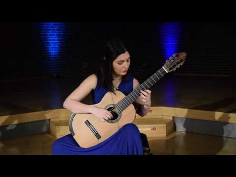 Segoviana by Darius Milhaud played by Andrea Gonzalez Caballero
