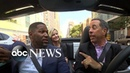 Jerry Seinfeld drives Michael Strahan and Sara Haines to the GMA Day premiere