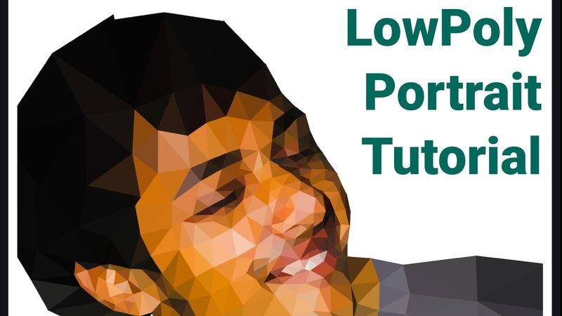 Low Poly Portrait Tutorial with Inkscape