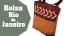 Como fazer a Bolsa Rio de Janeiro em Patchwork - Passo a Passo