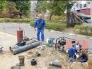 Поменяли теплотрассу внешние трубы отопления в микрорайоне Лопатинский