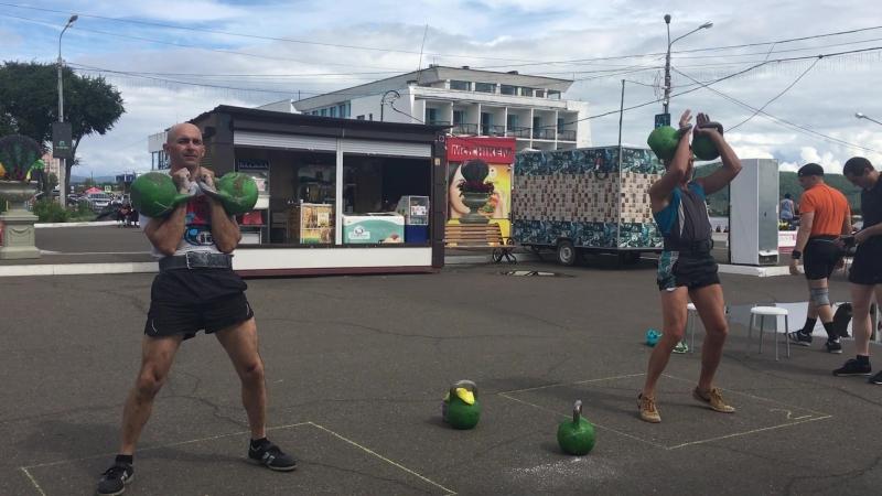 День физкультурника гиревой триатлон