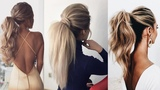 Elegant Volume PONYTAIL Made by Hairstylists Prom &amp Wedding Hairstyles