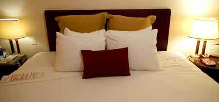 Даже в дорогих отелях могут быть заражены постельными клопами