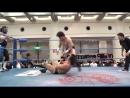 Atsushi Aoki Yusuke Okada vs Takao Omori Yohei Nakajima AJPW Champion Carnival 2018 Day 9