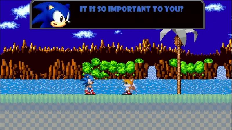 Sonic.exe на отлично с первой попытки