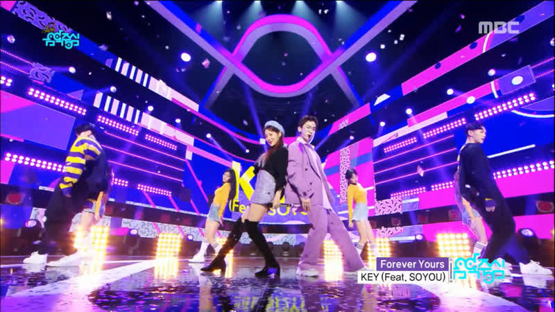Key - Forever Yours (ft. Soyou) @ Music Core 181117
