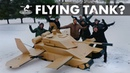 Will Our Dream Come True Giant Flying Tank