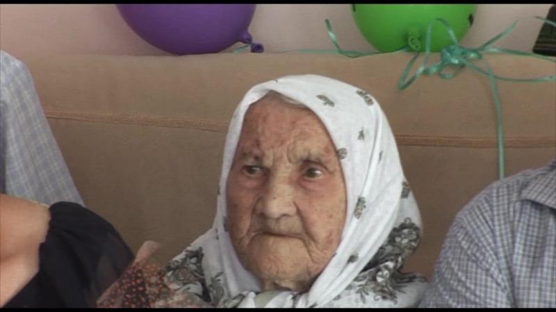 Жительнице с.Асяново исполнилось 105 лет