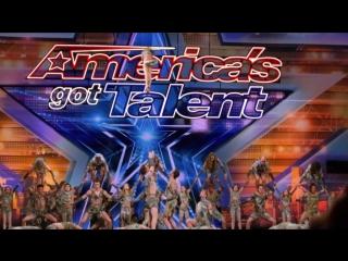 Sensational Dance Crew Get Tyra Banks GOLDEN BUZZER on Americas Got Talent - Got Talent Global