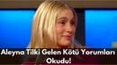 Aleyna Tilki Gelen Kötü Yorumları Okudu! Dudakları Dolgu Mu? Eser Yenerler Show
