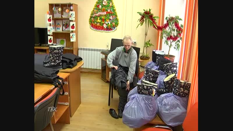 В рамках декады инвалидов и к предстоящему Новому году местный предприниматель передал жителям тогурского психоневрологического
