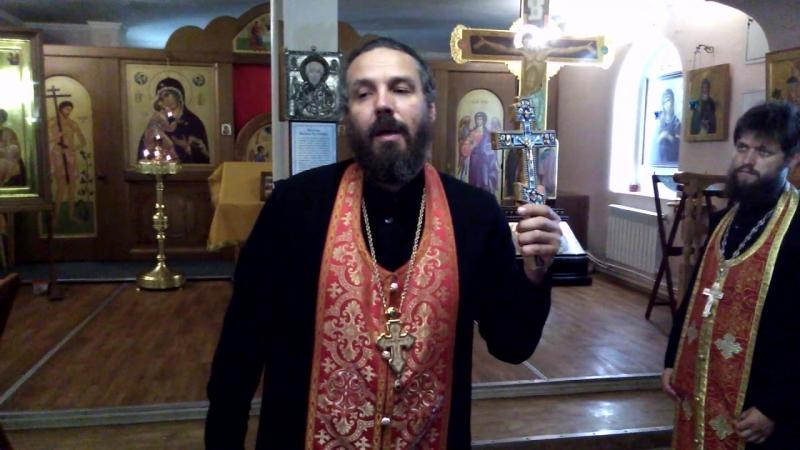 Духовное слово после акафиста святому Георгию Победоносцу