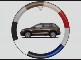 Colours of Tiguan