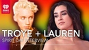 Lauren Jauregui Troye Sivan Have Messages For LGBTQ Youth On Spirit Day