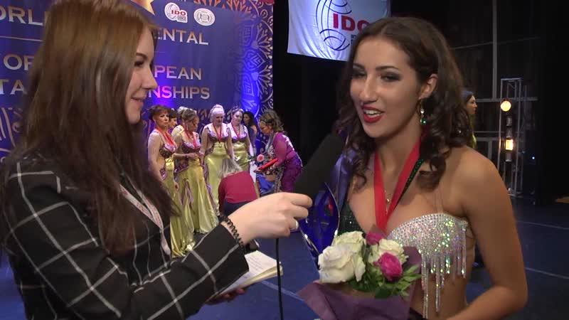 Сабина Гаджибабаева, обладательница Кубка Мира