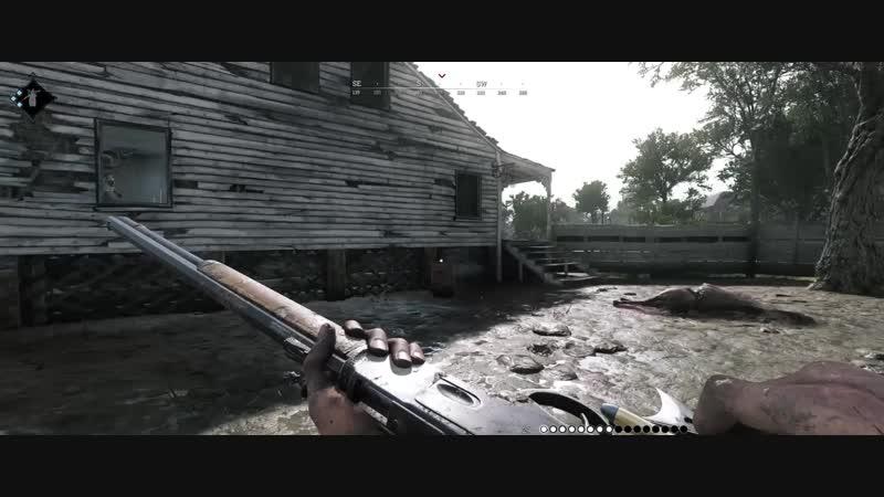 Странный пистолет (Hunt Showdow)