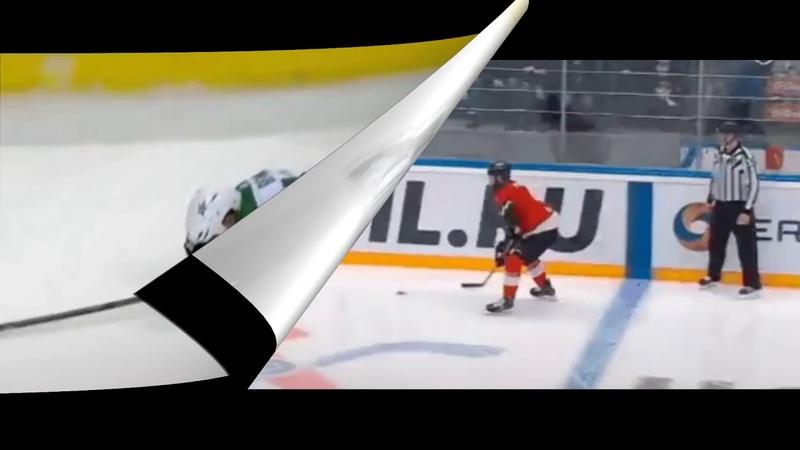 Хоккей Судья вырубил игрока Спорт Командная игра