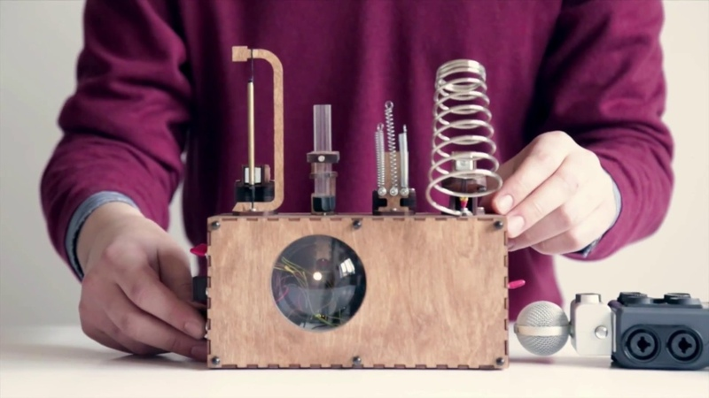 Loop | Motors, Magnets and Motion: Electronic Music Instruments from the Physical World