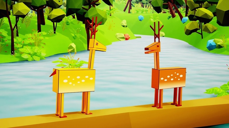 Two Deers Animated English Moral Stories for Kids Bedtime Stories for Kids Stories of the Forest